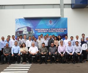 PT. Kahar Duta Sarana Ciracas Officially Announce a new 3rd Plant Operation